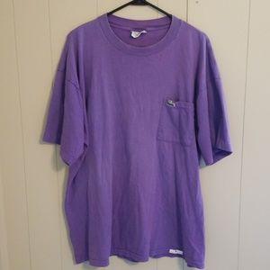 Lacoste Men's Purple Short Sleeve Tshirt